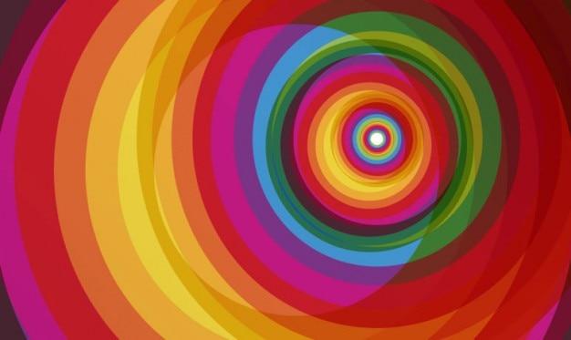 Cerchio colorato grafica vettoriale
