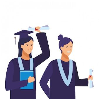 Cerimonia di laurea degli studenti