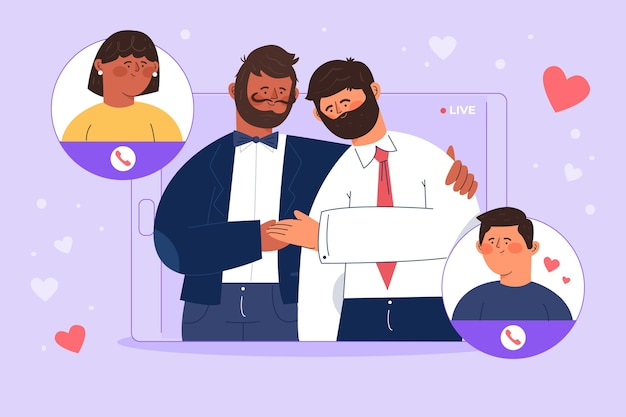 Cerimonia di nozze online