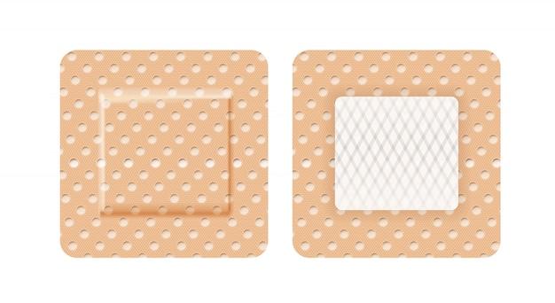 Cerotto a forma quadrata