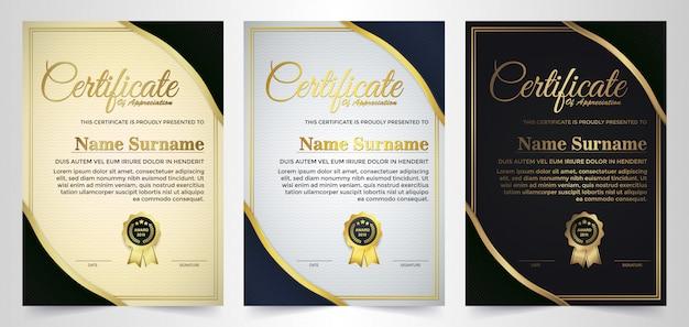 Certificato di conseguimento del miglior diploma assegnato.
