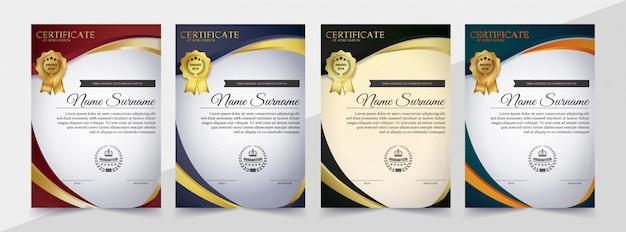 Certificato di riconoscimento di riconoscimento