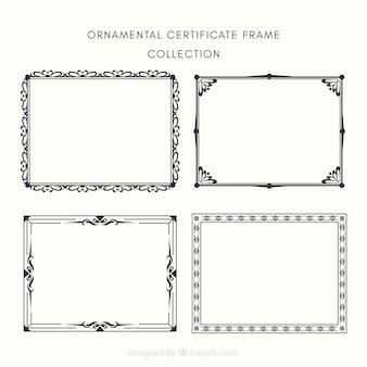 Certificato frame collectio