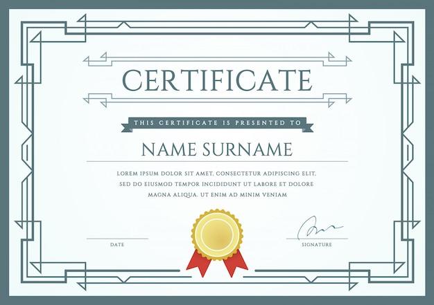 Certificato o diploma