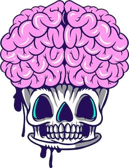 Cervello cupcake