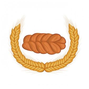 Challah di pane fresco e delizioso