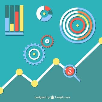 Chart social network