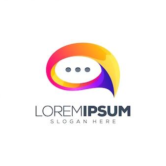 Chat logo design