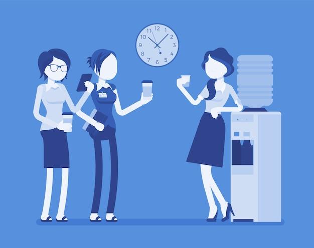 Chat più fresca in ufficio