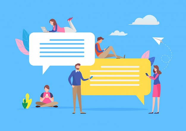 Chattare sui social media