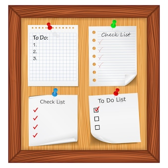 Check list e todo list