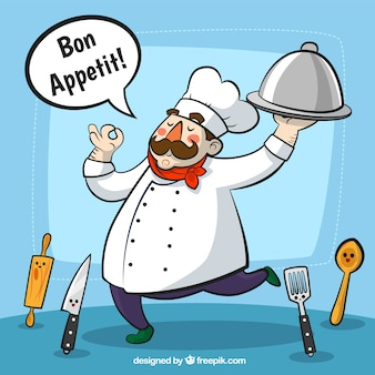 Chef illustrazione