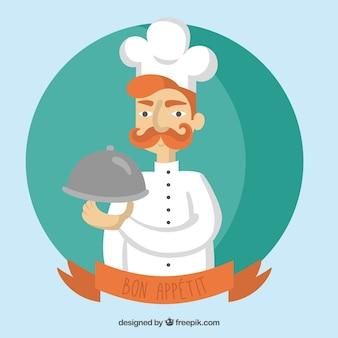 Chef illustrazione