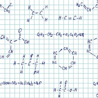Chimica del quaderno bianco