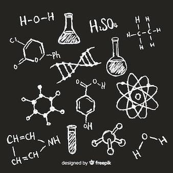 Chimica sulla lavagna