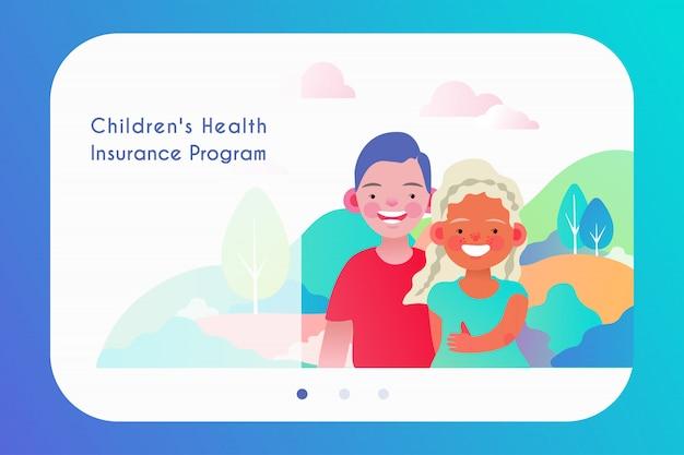 Chip o modello di programma di assicurazione sanitaria per bambini