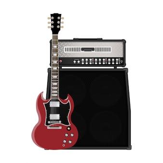 Chitarra e amplificatore