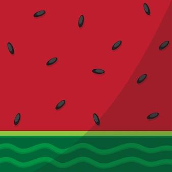 Chiuda sulla priorità bassa dell'anguria