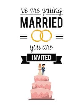 Ci sposiamo con fedi e torte