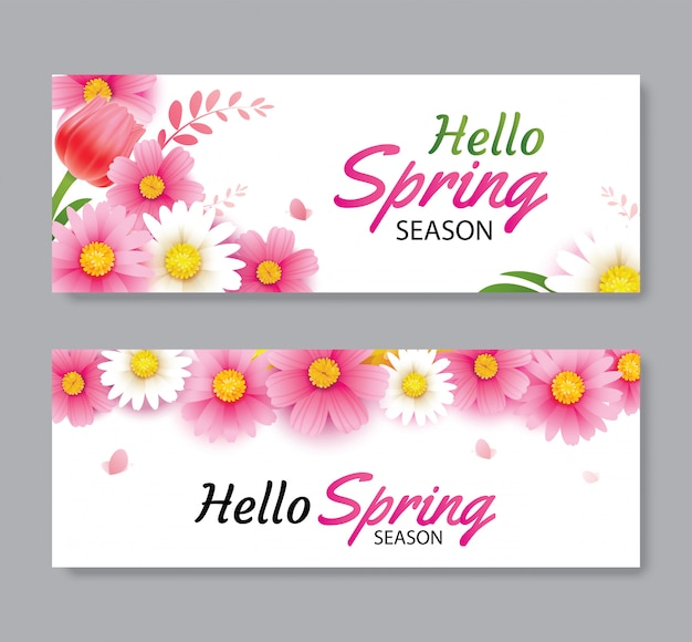 Ciao auguri di primavera e invito