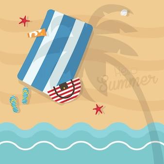 Ciao carta di vacanze estive square
