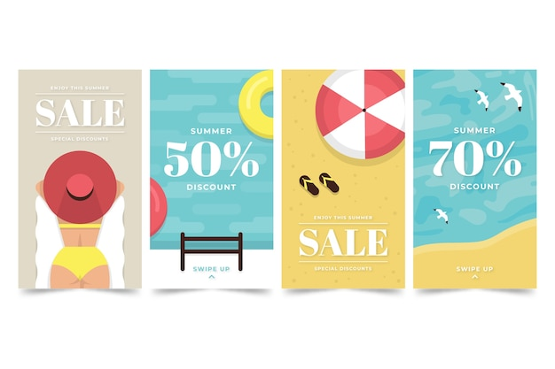 Ciao collezione di storie instagram vendita estate