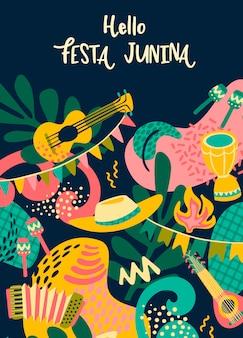 Ciao festa junina.