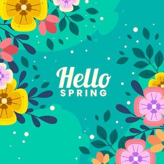 Ciao primavera colorata