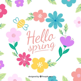 Ciao primavera sfondo