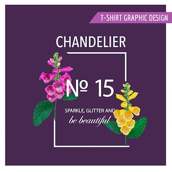 Ciao summer floral design with flowers