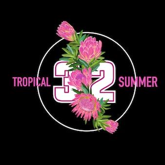 Ciao summer tropical design