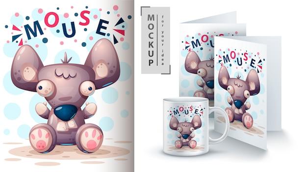 Ciao topo, ratto e merchandising