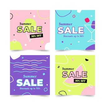 Ciao vendita estate instagram post collection
