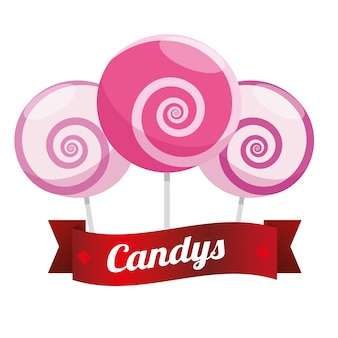 Cibo dolce, candys