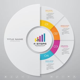 Ciclo grafico infografica