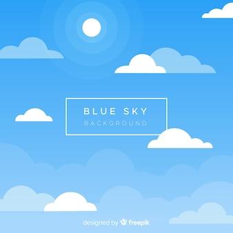 Cielo blu backround