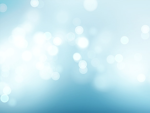 Cielo blu con il chiarore dell'obiettivo e il fondo del bokeh.