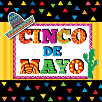Cinco de mayo card