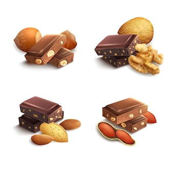 Cioccolato con noci