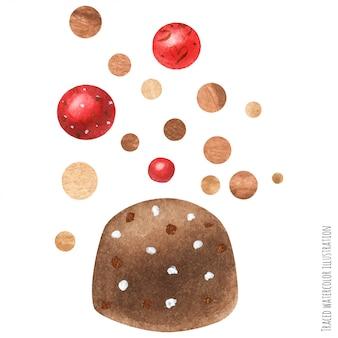 Cioccolato e biscotti art