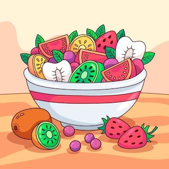 Ciotole per frutta e insalata