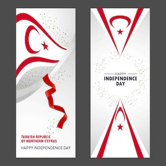 Cipro del nord felice giorno dell'indipendenza
