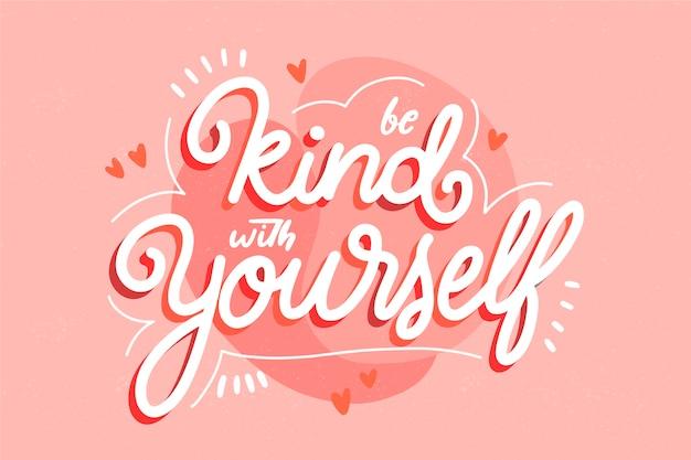 Citazione con il tema dell'amore per se stessi