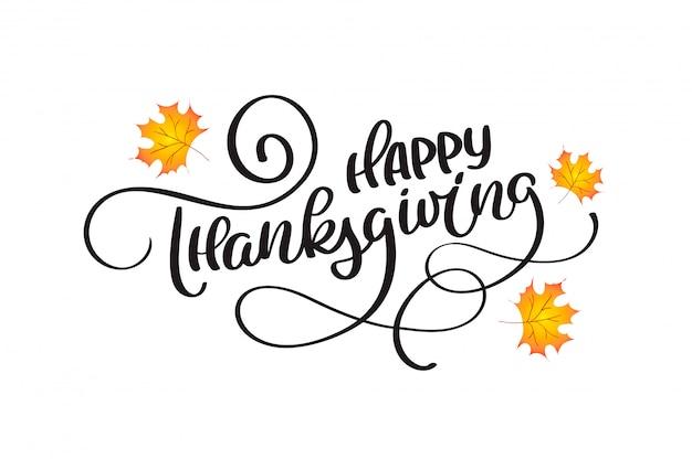 Citazione di celebrazione happy thanksgiving per cartolina