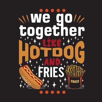 Citazione di hot dog