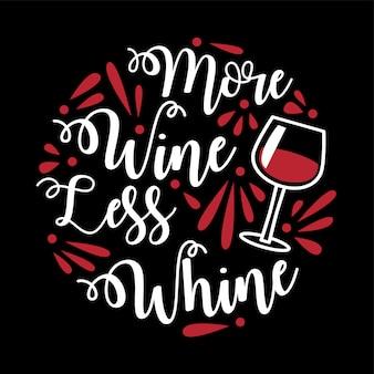 Citazione e detto divertente del vino