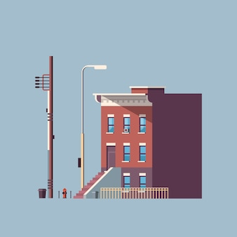 Città edificio casa immobiliare urbano
