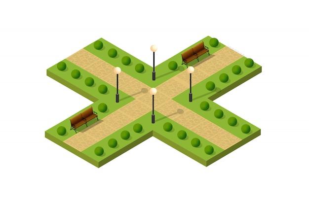 Città metropoli isometrica