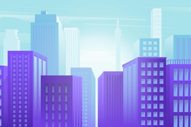 Città urbana - sfondo per videoconferenze