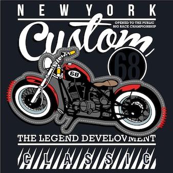Classico club da corsa di motociclette